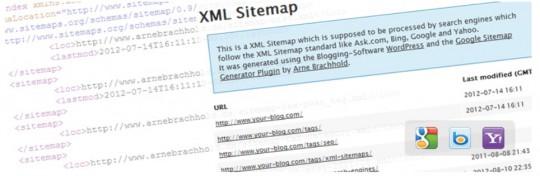 نقشه سایت Google XML | پلاگین سئو وردپرس