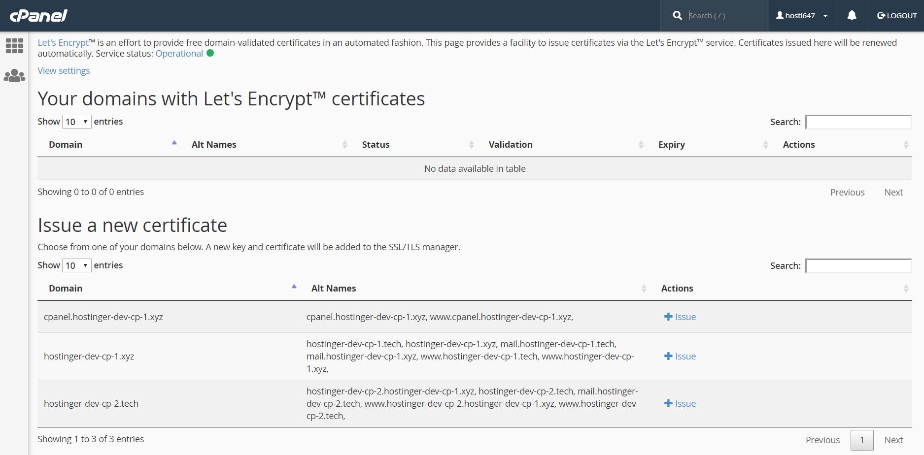 نحوه نصب گواهی Let's Encrypt از سی پنل